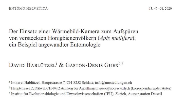 Entomo Helvetica Ausgabe 13
